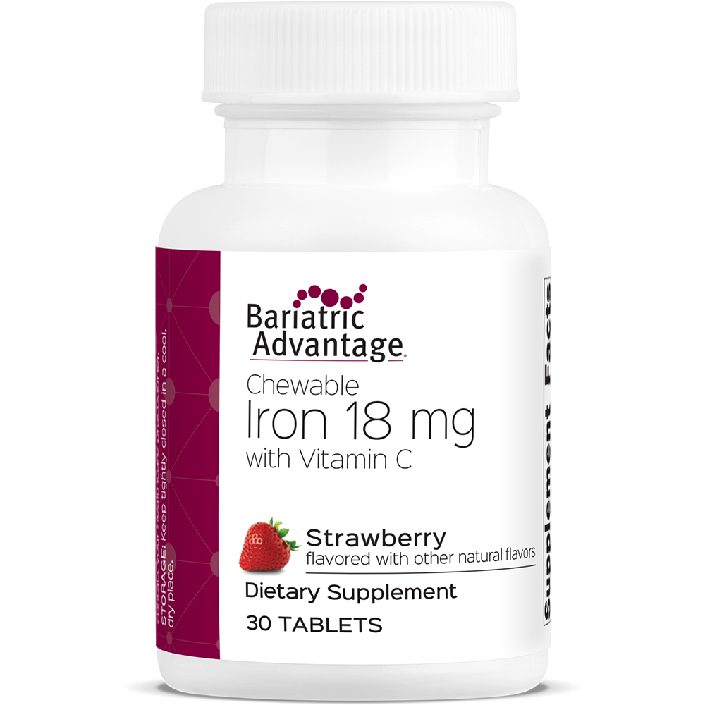 Strawberry Chewable Iron 18MG